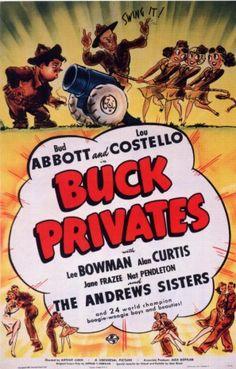 Buck Privates (1941) (Abbot and Costello)