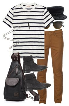 Inspired by Harry Styles. by nikka-phillips on Polyvore featuring polyvore Brooks Brothers Urban Pipeline Marsèll Marco Ta Moko Ann Demeulemeester Goorin men's fashion menswear clothing