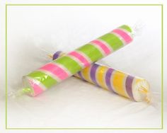 Giant Peppermint Sticks - DIY with Pool Noodles and Wrapping Paper???