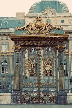 Ornate French Gates