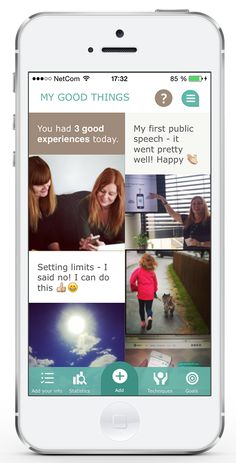 Mindfit helps you get a better everyday life, and become more aware of the positive things happening in your life right now #motivation #iphoneapp