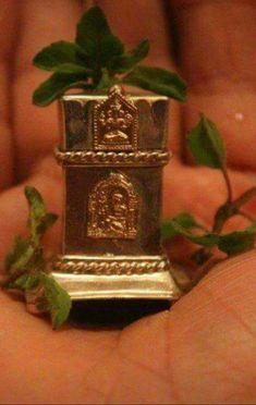 Tulsi Vivah, Mandir Decoration, Silver Pooja Items, Puja Room, Oil Lamps, Ganesh, Goddesses, Holi, Basil