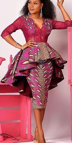 African Print/ Ankara Blouse and Skirt/ African Clothing/ Ankara Print Leyinwa Couture - Ankara Blouse and Skirt . African Fashion Ankara, Latest African Fashion Dresses, African Dresses For Women, African Print Dresses, African Inspired Fashion, African Print Fashion, Africa Fashion, African Attire, African Prints