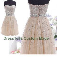 Short Prom Dress  Mini Prom Dress / tulle dress prom