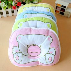 Newborn Infant Shaping Pillow Neck Anti-roll Pillow Head Sleeping Positioner Nursing Bedding Babies Linen Cushion Pad