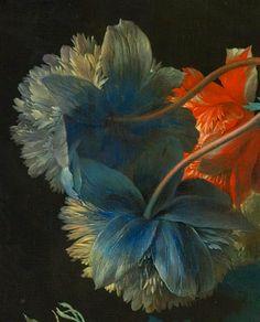 HUIJSUM, Jan van (1682–1749) Still Life, details from 1700 until 1749