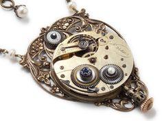 Steampunk jewelry | Steampunk Jewelry Designs by Artist Maria Sparks • Steampunk Art ...