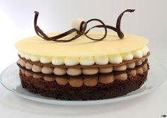 Cupcake Recipes, Baking Recipes, Dessert Recipes, Fondant Cakes, Cupcake Cakes, Mini Mouse Cake, Chocolate Mousse Cake, Lava Cakes, Brownie Cake