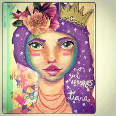A girl's tiara