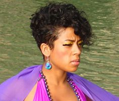 Short Curly Hair on Pinterest   Curly Mohawk, Mohawk Hairstyles ...
