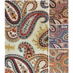 @Overstock - Swirls of color splash across this handmade paisley wool rug to bring a little India into your home. Handmade with a loop weave, the rug is soft for bare feet and an ideal selection for a contemporary or eclectic home. Choose from several bold colors.http://www.overstock.com/Home-Garden/Handmade-Luna-Paisley-Wool-Rug-76-x-96/6172523/product.html?CID=214117 $347.99