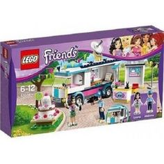 Lego Friends 41056 Heartlake News Van Set New/Sealed!! 278pcs HTF Awesome Set!! #LEGO