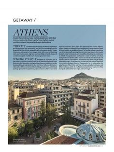 Page 01 Zen Center, Green Apartment, Walnut Furniture, Free Meditation, Rooftop Restaurant, Terrazzo Flooring, Acropolis, Ancient Ruins, Like A Local