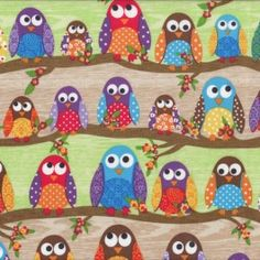 1000 Images About Owls Fabric On Pinterest Sarah J Fat