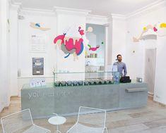 Yoli Frozen Yogurt / Amseldrossel | Design d'espace