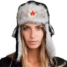 Trapper Hat + Soviet Pin ($8 value)