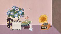 HANA SEO painting & illustration Korean Art, Hana, Illustrations, Traditional, Artist, Painting, Design, Korean Style, Painting Art
