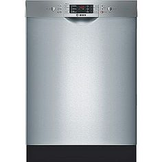 "24""  Built-In Dishwasher  Stainless Steel ENERGY STAR®- Bosch"