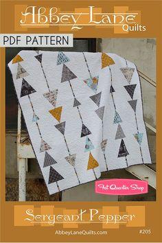 Sergeant Pepper Downloadable PDF Quilt Pattern Abbey Lane Quilts | Fat Quarter Shop