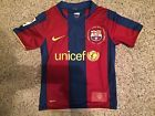 For Sale - Rare  Vtg NIKE DRI FIT FC Barcelona 2007 Soccer Jersey Youth XS Extra Small FCB - See More at http://sprtz.us/BarcelonaEBay
