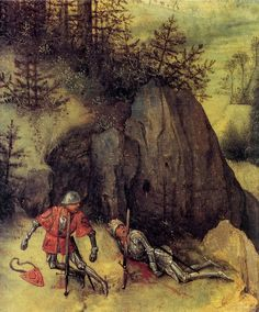 Der selbstmord Sauls - Detalle - Pieter Bruegel the Elder - ©Regenbogen Renaissance Paintings, Renaissance Art, Pieter Brueghel El Viejo, Pieter Bruegel The Elder, Dream Pictures, Landscape Elements, Dutch Golden Age, Late Middle Ages, Hieronymus Bosch