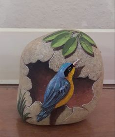 Christine Onward - art and interior decor - Powered by Rock Street Collective . - Christine Onward – art and interior decor – Powered by Rock Street Collective – - Painted Rock Animals, Painted Rocks Craft, Hand Painted Rocks, Rock Painting Patterns, Rock Painting Ideas Easy, Rock Painting Designs, Stone Art Painting, Pebble Painting, Pebble Art