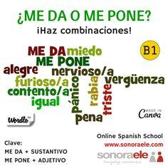 ONLINE SPANISH: VOCABULARIO: Sentimientos y emociones. Uso del Subjuntivo