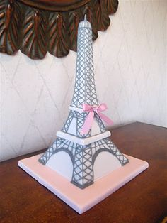 Eiffel Tower Cake by Eat Cake Be Merry