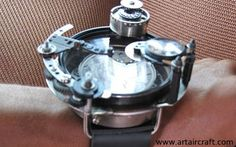 Watches, made from aircraft parts