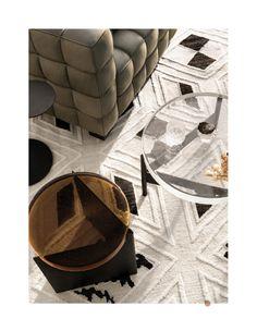 Sebastian Herkner, Glass Furniture, The Design Files, Earthy, Latest Trends, Table, Evergreen, Carpets, Home Decor