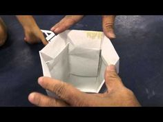 Have Paper, Will Travel: Creating a hexagonal Angel Blanco Self-Closing Box