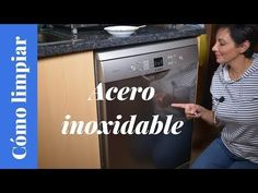 Cómo hacer un limpiador para el acero inoxidable o stainless - YouTube Clean House, Cleaning Hacks, Make It Yourself, Tips, Youtube, Ideas Para, Cleaning Stove, Stainless Steel Appliances, Cleaning Recipes