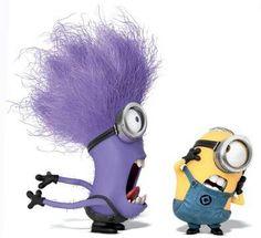 1000 Images About Diy Purple Evil Minion Costume Ideas