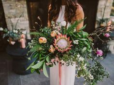 20 King Protea Bouquets That are Bold and Beautiful