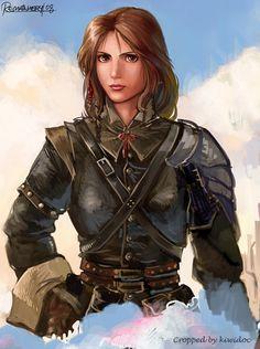 Western Female Warrior