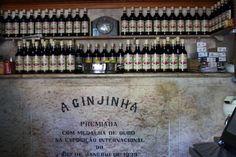 Lisboa - Ginjinha, o licor que adoça a capital