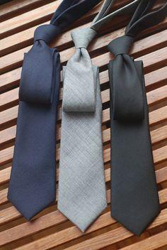 Los colores de estas corbatas son muy esenciales y que hacen juego con la mayoría de camisas, intenta y veras #InStaley #Sofisticado #Moderno
