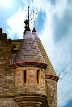 One of the turrets on Belfast Castle