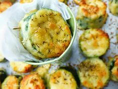 The Tiny Marmalade Co.: Crunchy Courgette Bites