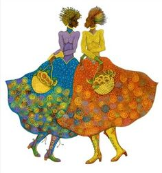 """Charles Bibb Hand Signed and Numbered Limited Edition:""""Sunflower Girls"""""""