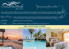 """San Martinho Beach Club - """"Your piece of paradise"""" www.smbc.co.za"""