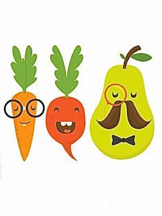 Les légumes mystérieux