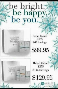 Gifts of beauty for your loved ones! cindylouallen.nerium.com