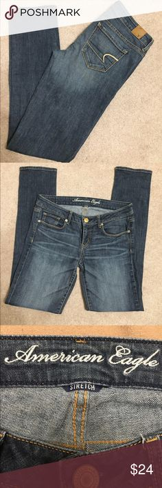 "American Eagle Skinny. Size 8. Inseam 30.5"" American Eagle Outfitters Jeans Skinny"