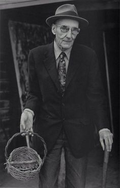 William Burroughs [by Herb Ritts]