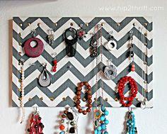 Three DIY Jewelry Display Tutorials