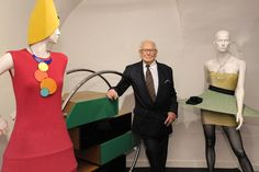 """The Space Age designer is permanently moving his private exhibition space, dubbed """"Past-Present-Future,"""" from its previous location in Saint-Ouen on the outskirts of the French capital to a former tie factory in the central Marais district. Pierre Cardin museum"""