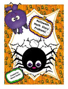 "Math Halloween Story Problems from Teach,Learn&CreateShoppe on TeachersNotebook.com -  (10 pages)  - Have some Halloween fun with these ""spooky"" math story problems.  A great way to scare away the fear of problem solving!"