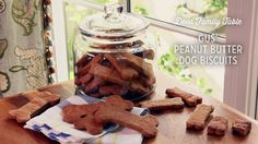 Check out what I found on the Paula Deen Network! Gus' Peanut Butter Dog Biscuits http://www.pauladeen.com/gus-peanut-butter-dog-biscuits