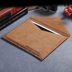 Universal Mail Bag Retro Envelope Design Flip PU Leather Protective Sleeve Pouch For iPad Pro 12.9 I Sale - Banggood.com